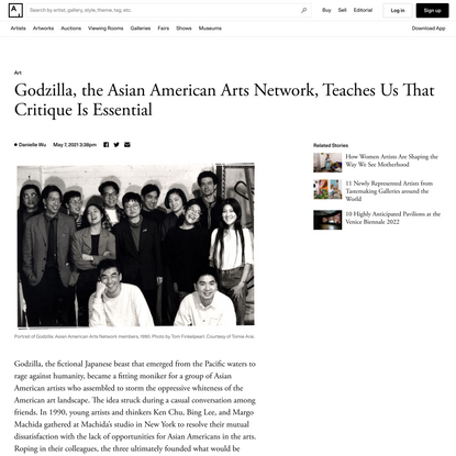 Godzilla, the Asian American Arts Network, Teaches Us That Critique Is Essential
