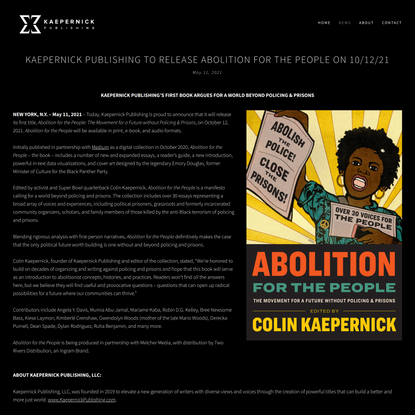 News — Kaepernick Publishing