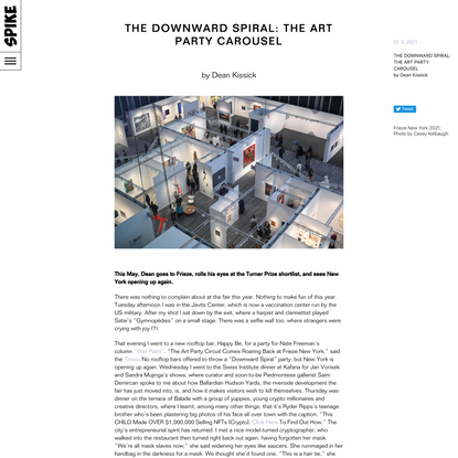 The Downward Spiral: The Art Party Carousel