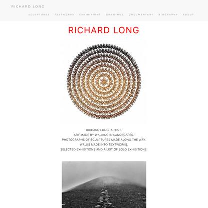 RICHARD LONG OFFICIAL