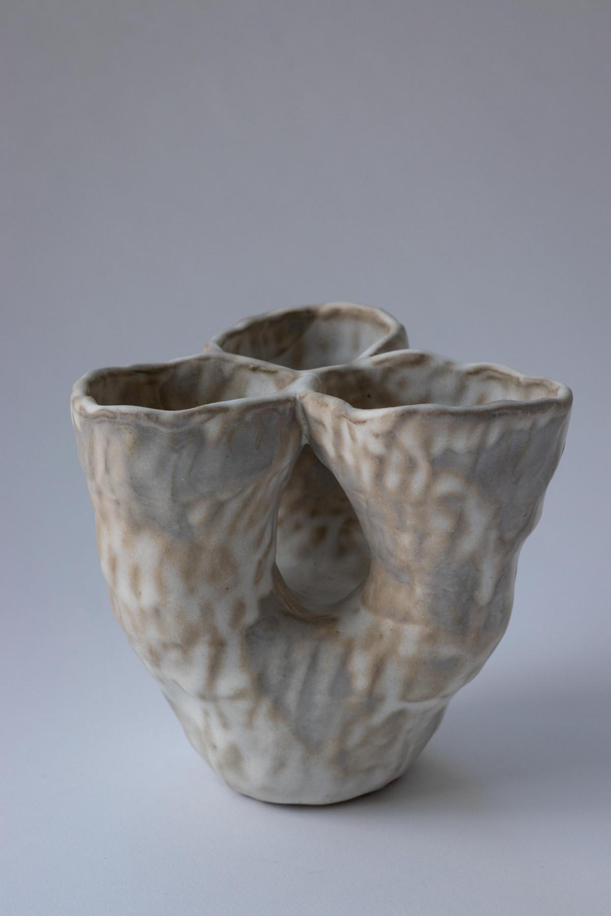 three headed vase