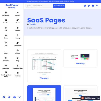 SaaS Pages