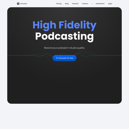 Podcasting recording made easy! Start your podcast today