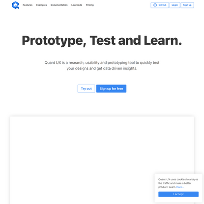 Quant-UX - Prototype, Test and Learn - 4.0.1