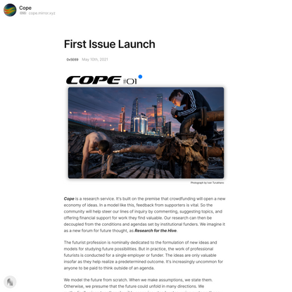 First Issue Launch — Mirror