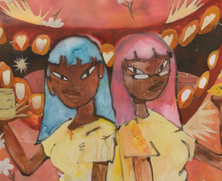 """""""Twin Ego Gemini"""" by Obi Agwam"""