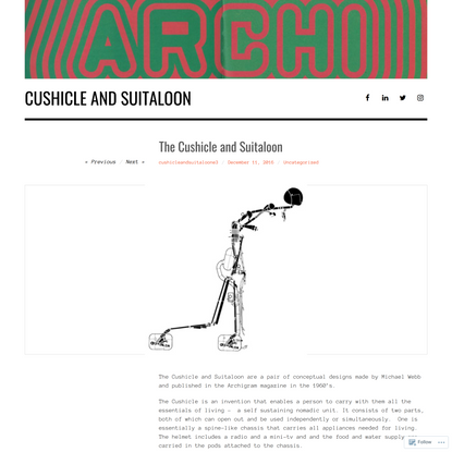 The Cushicle and Suitaloon