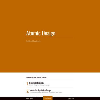 Atomic Design | Atomic Design by Brad Frost