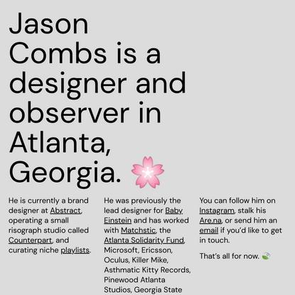 Jason Combs