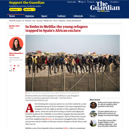 In limbo in Melilla: the young refugees trapped in Spain's African enclave
