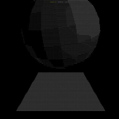 three.js webgl - effects - ascii