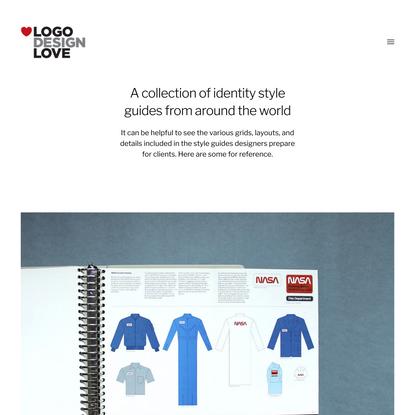 Brand identity style guide documents   Logo Design Love