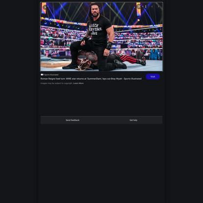 Title: Roman Reigns heel turn: WWE star returns at 'SummerSlam,' lays out Bray Wyatt - Sports Illustrated