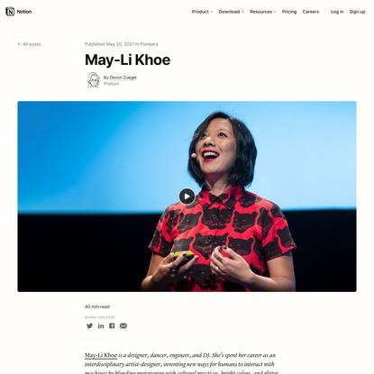 May-Li Khoe