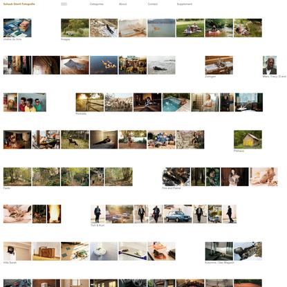 Schaub Stierli Fotografie - Projects