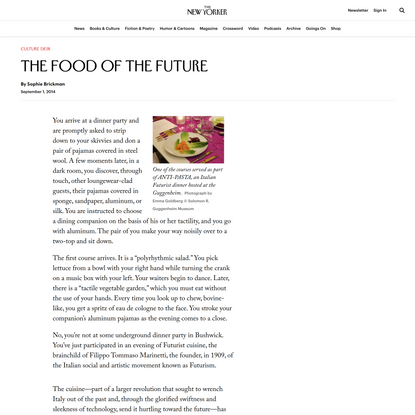 The Food of the Future
