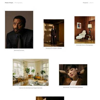 Robert Rieger Editorial Photography Berlin