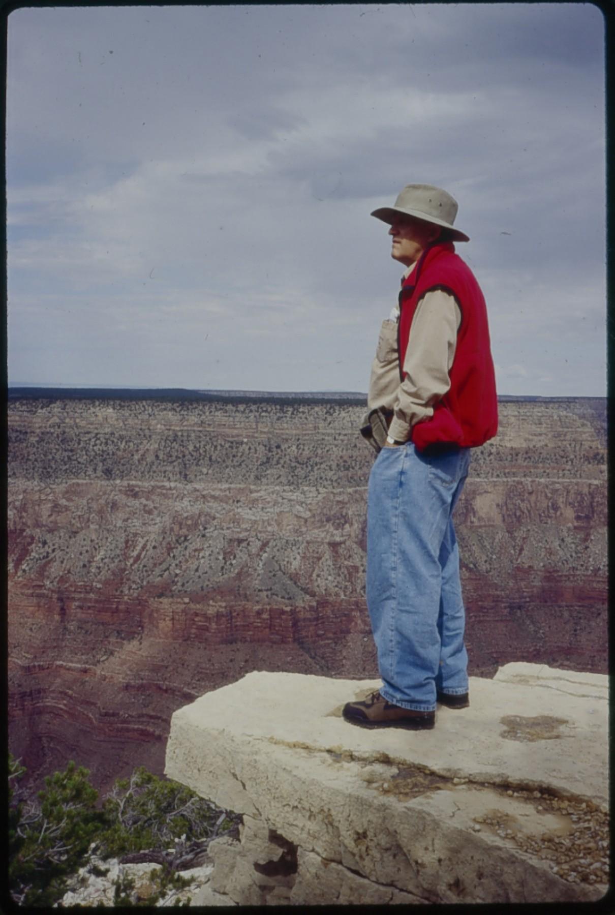 Hockney at the Grand Canyon (1998)