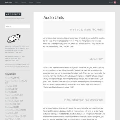 Audio Units | Airwindows