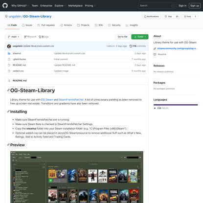 ungstein/OG-Steam-Library