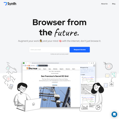 Synth   Browser From The Future