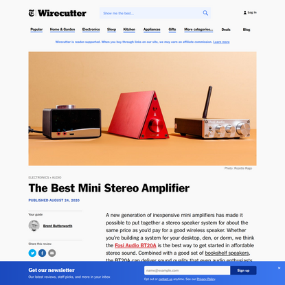 The Best Mini Stereo Amplifier