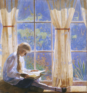 The Orchard Window (1918)