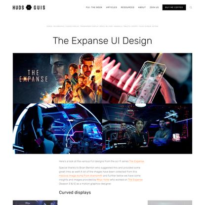 The Expanse UI Design — HUDS+GUIS