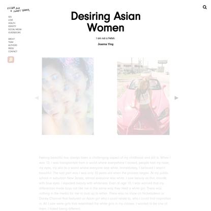 Desiring Asian Women