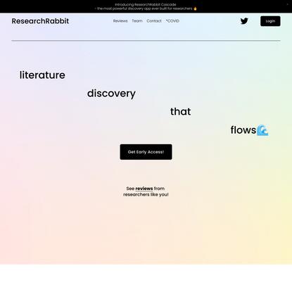 ResearchRabbit