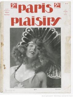 paris plaisirs 1923