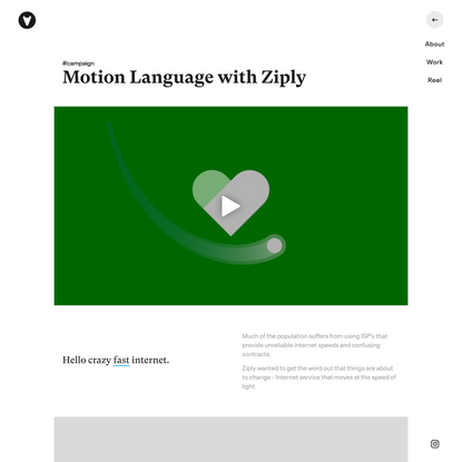 Vucko - Motion Language with Ziply
