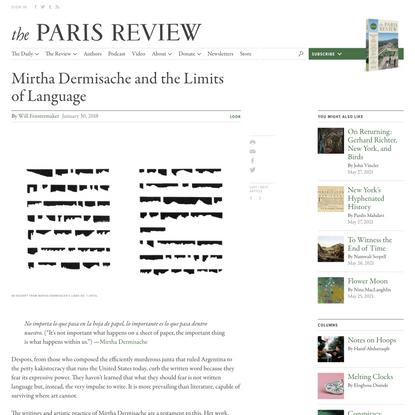 Mirtha Dermisache and the Limits of Language