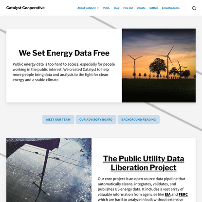 Catalyst Cooperative | Open Data Science for a Stable Climate