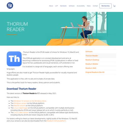 Thorium Reader – EDRLab