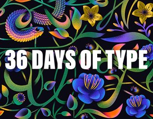 36 Days of Type - Mayflower Collection