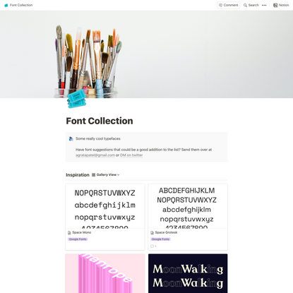 Notion – The all-in-one workspace for your notes, tasks, wikis, and databases.