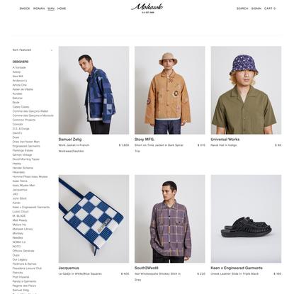 Shop Man   Men's Collections