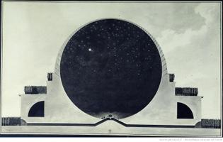 Etienne-Lousi Boullé, Cenotaph for Newton