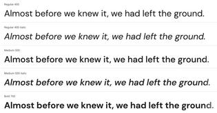 Google Fonts – DM Sans