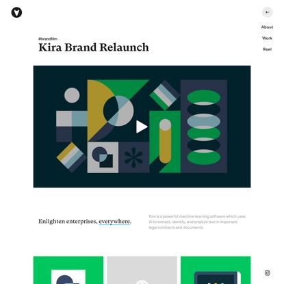Vucko - Kira Brand Relaunch
