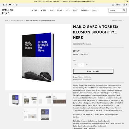 Mario García Torres: Illusion Brought Me Here