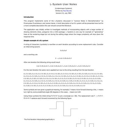 L-System manual