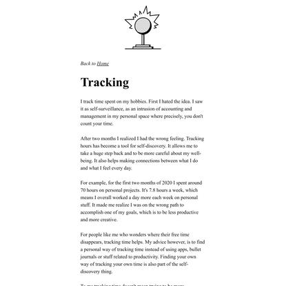 Tracking - Thomasorus