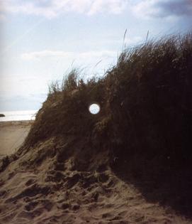 Views Through a Sand Dune by Nancy Holt
