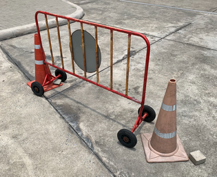 Traffic Cones, Young and Old
