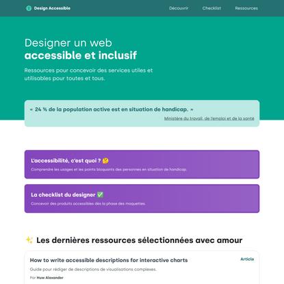Design Accessible