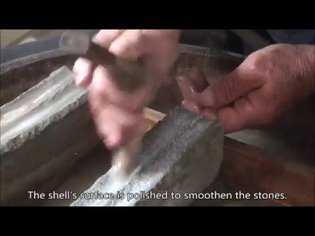 How to Make Go Stones from Clamshell English