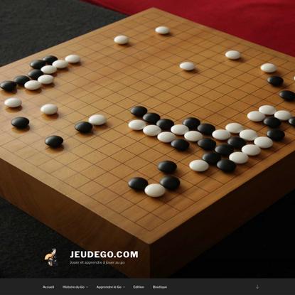 JeudeGo.com – Jouer et apprendre à jouer au go