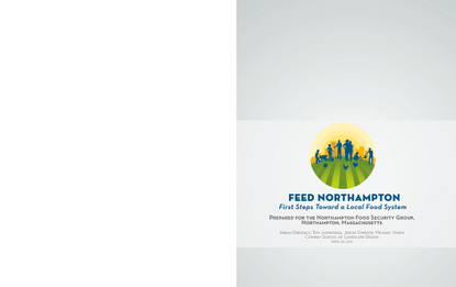Feed Northampton: First Steps Toward a Local Food System